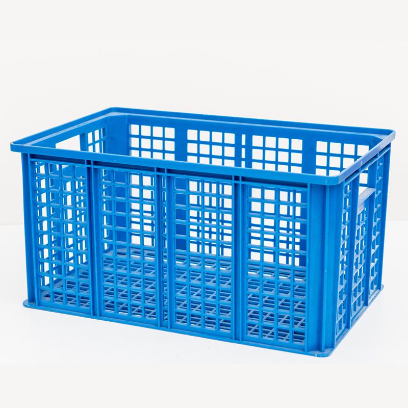 Caja azul de rotación