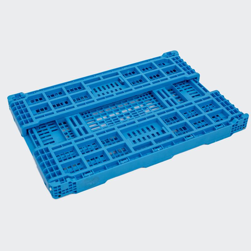 Caja plegable azul claro