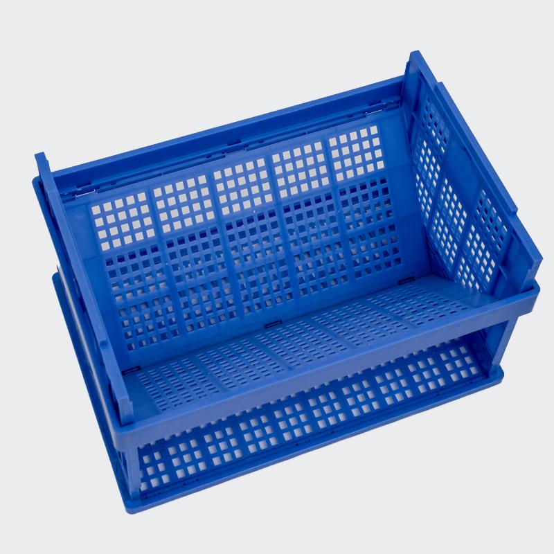Caja plegable azul marino